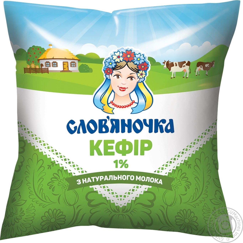 Купить Кефир Славяночка 1% 425г