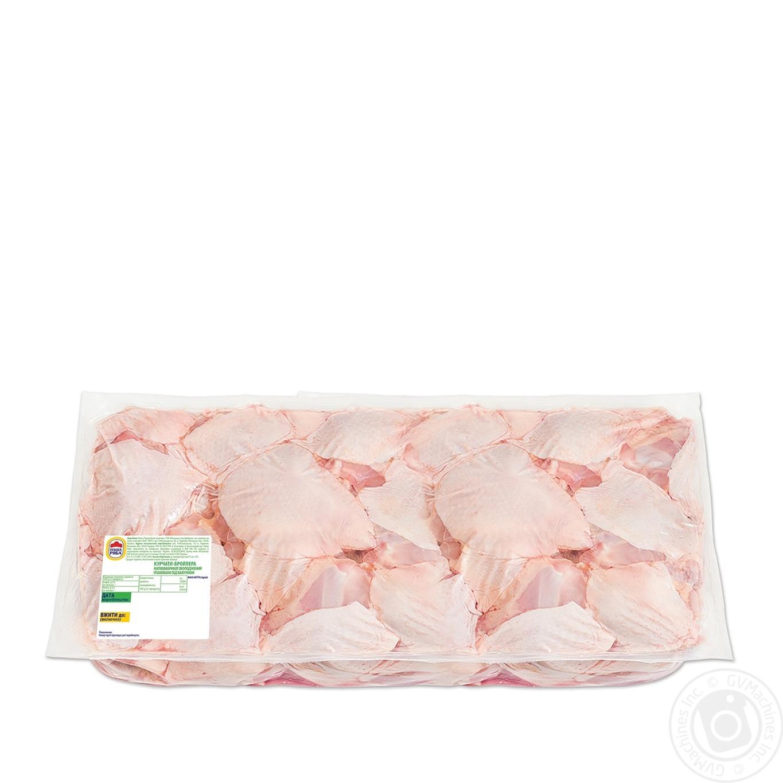 Купить Стегно курчати-бройлера Наша Ряба охолоджене (вакуумна упаковка ~9кг)