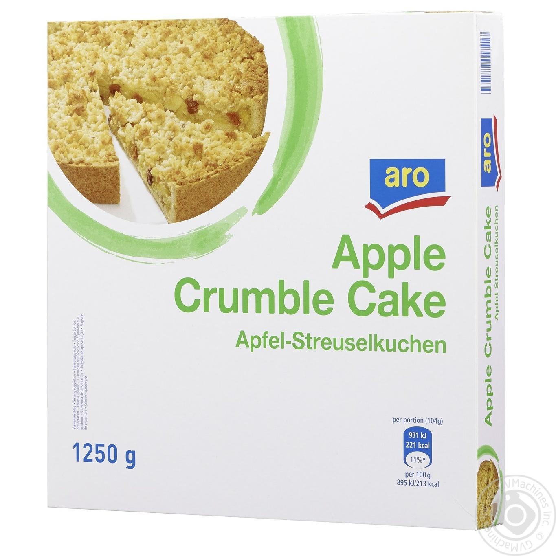 Купить Пиріг Aro яблучний заморожений 1250г