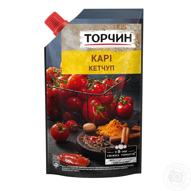Купить Кетчуп Торчин Карі 250г