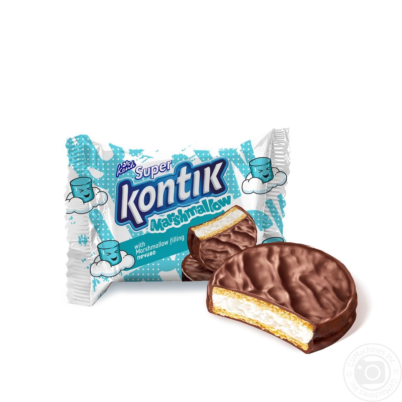 Печиво Konti Super Kontik з начинкою маршмеллоу 30г