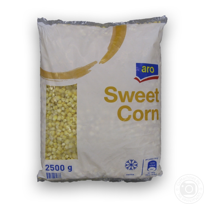Купить Кукурудза Aro в зернах солодка свіжозаморожена 2, 5кг