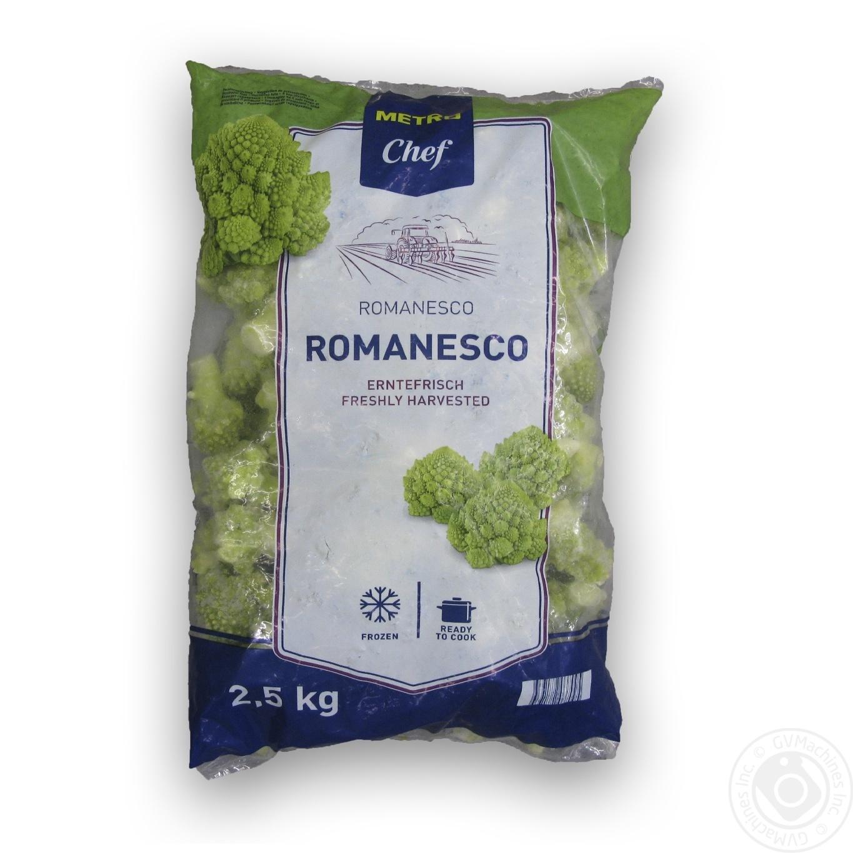 Овочі та гриби, Капуста романеско METRO Chef заморожена 2, 5кг  - купить со скидкой
