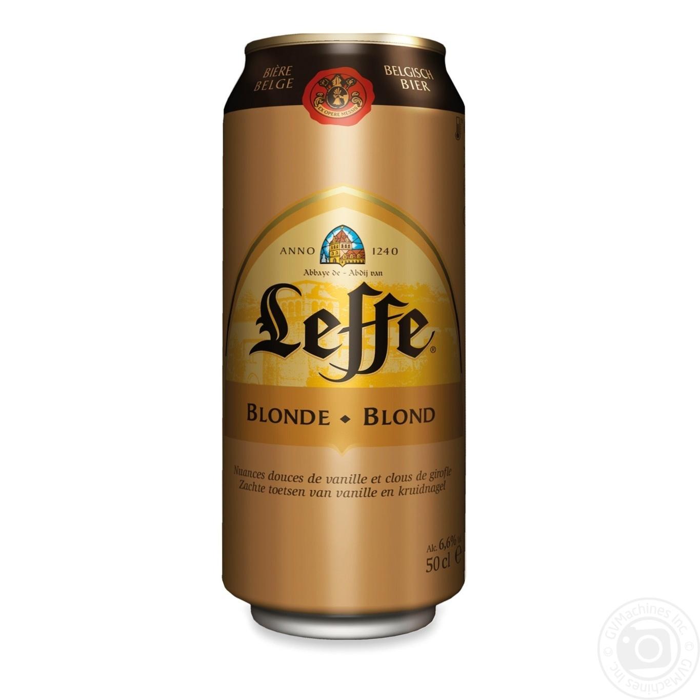 Купить BBQ, Пиво Leffe Blonde світле 6, 6% 0, 5л