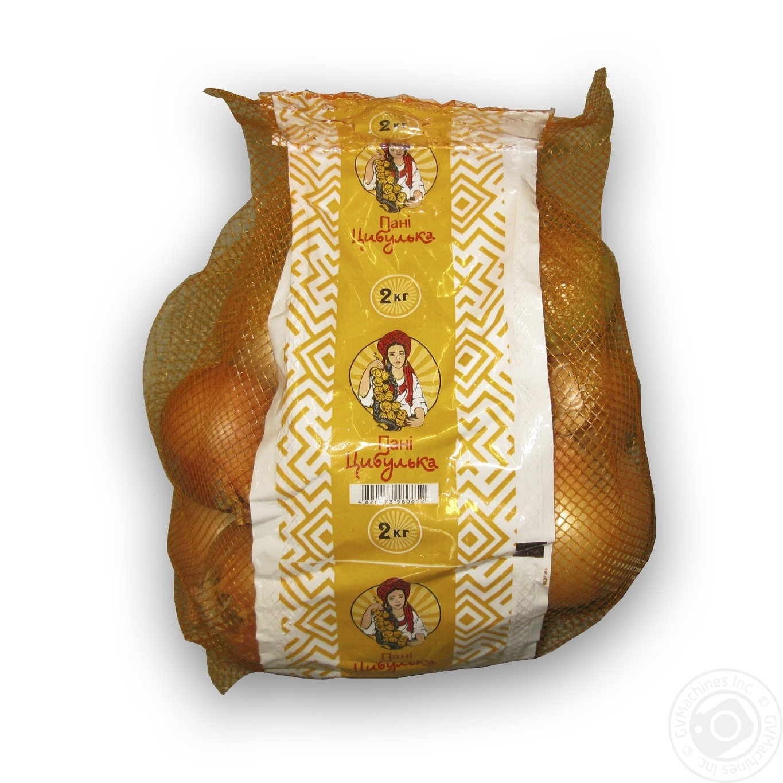 Купить Овочі, ЦИБУЛЯ ПАНІ ЦИБУЛЬКА 2 КГ