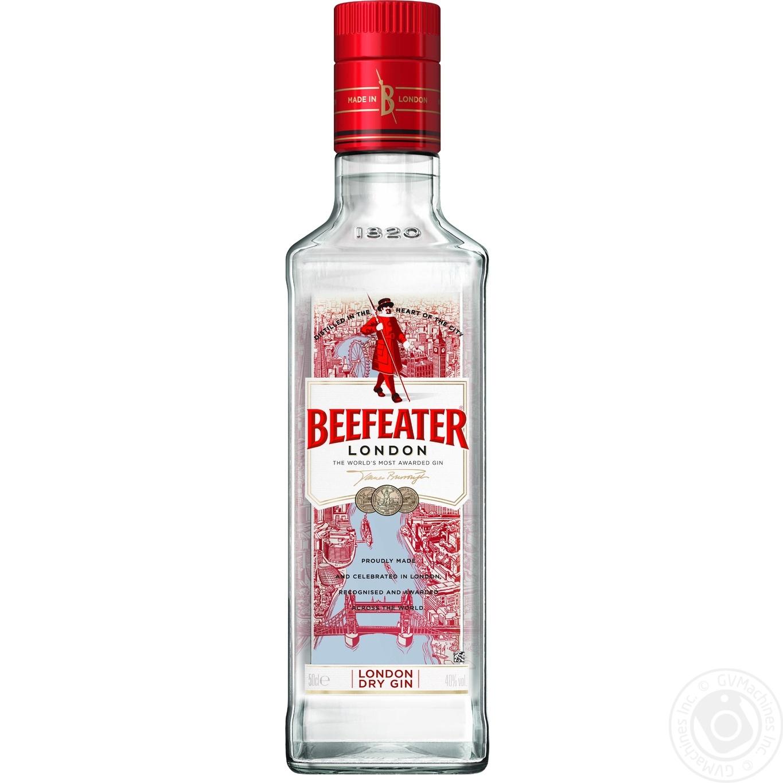 Купить Алкоголь та енергетики, Джин Beefeater 47% 0, 5л
