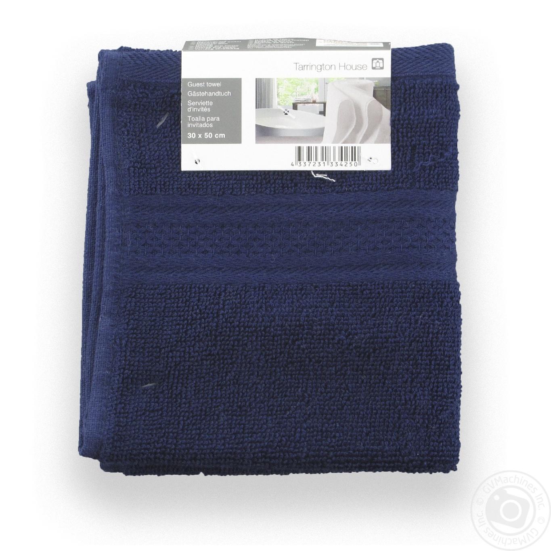 Купить Домашній текстиль, TARRINGTON HOUSE РУШНИК 500 ГС СИНІЙ