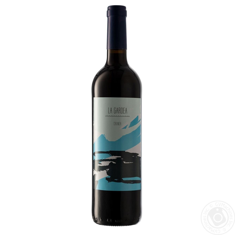 Купить Алкоголь та енергетики, Вино La Gardea Crianza червоне сухе 0, 75л