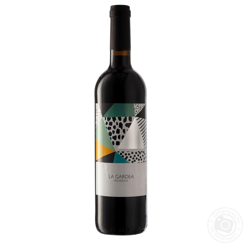 Купить Алкоголь та енергетики, Вино La Gardea Reserva червоне сухе 0, 75л