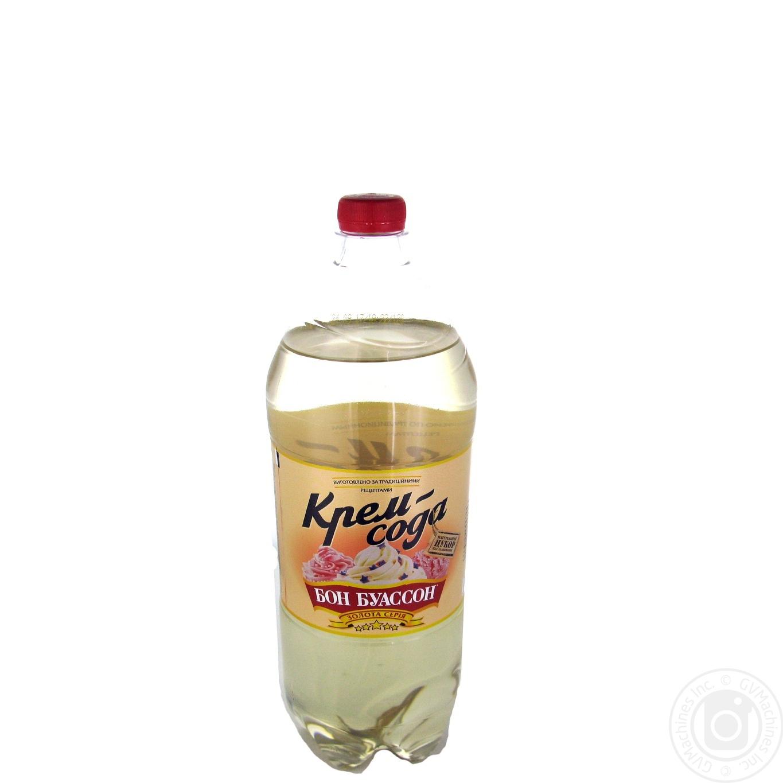Купить Напиток Бон Буассон Крем-сода сильногазированый 2л