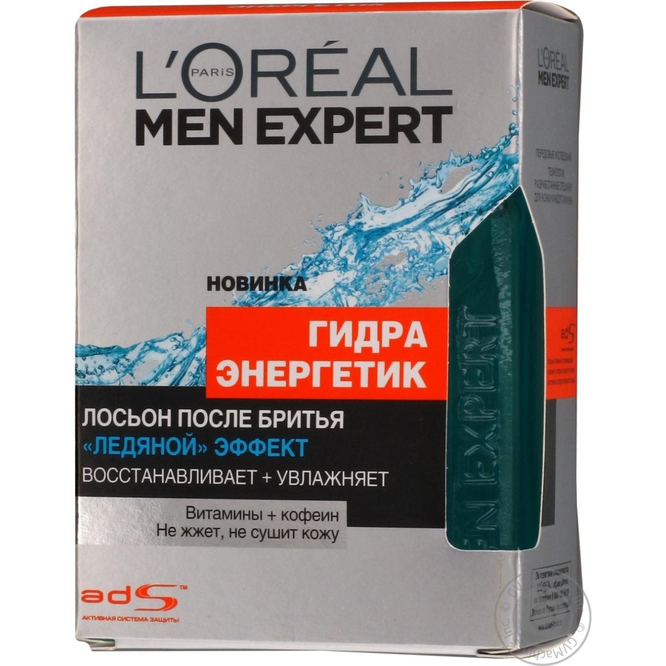 Купить Лосьон L'Oreal Men Expert Гидра энергетик после бритья 100мл