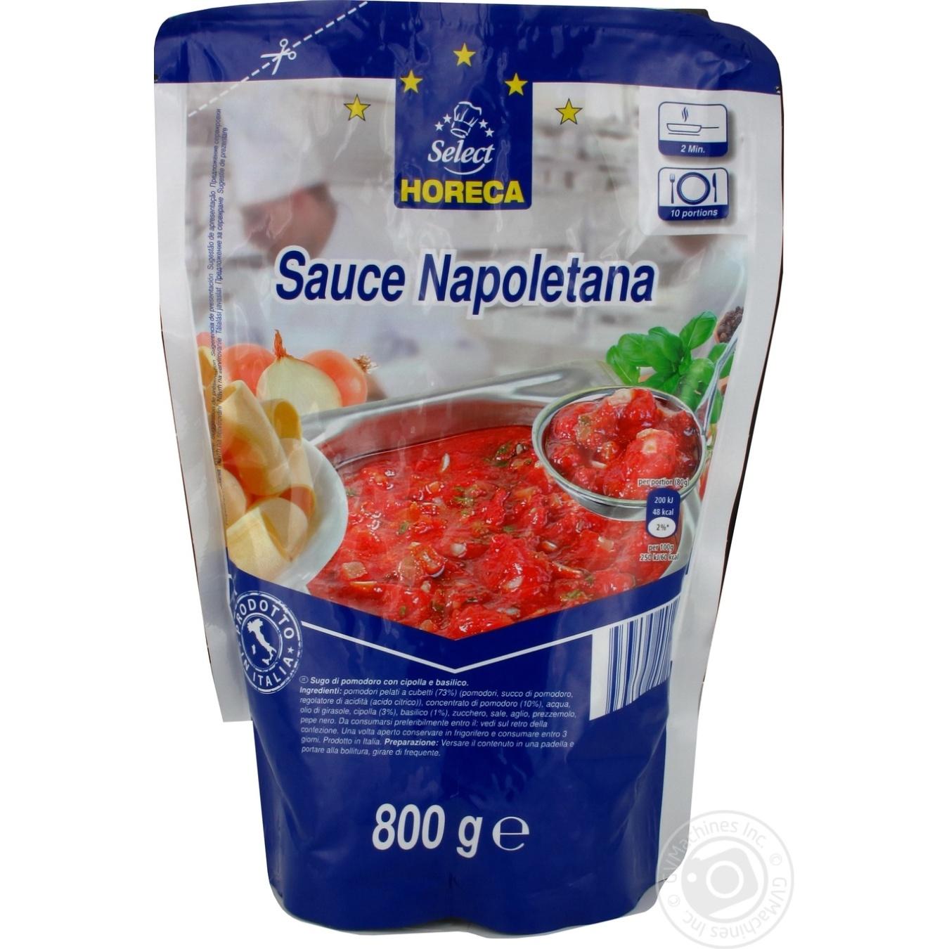 Купить Соус томатный Horeca Select Неаполитанский с луком и базиликом 800г