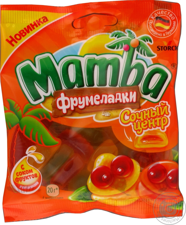 Купить МАМБА МАРМ СОКОВИТИЙ ЦЕНТР 70Г
