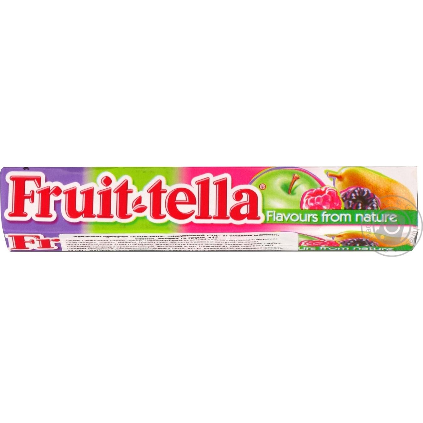 Купить Конфеты жевательные Fruit-tella Фруктовый сад 41г