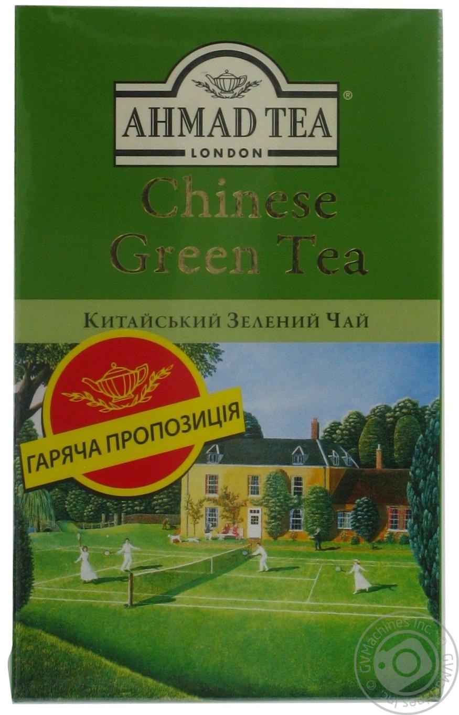 Купить Чай Ahmad китайский зеленый 100г