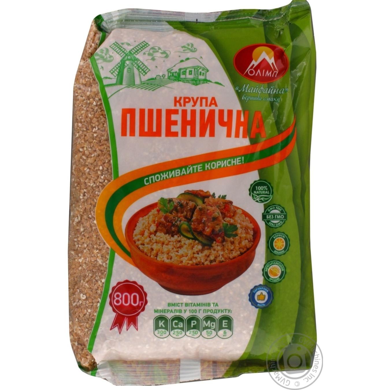Купить Крупа пшеничная Олимп 0, 8кг