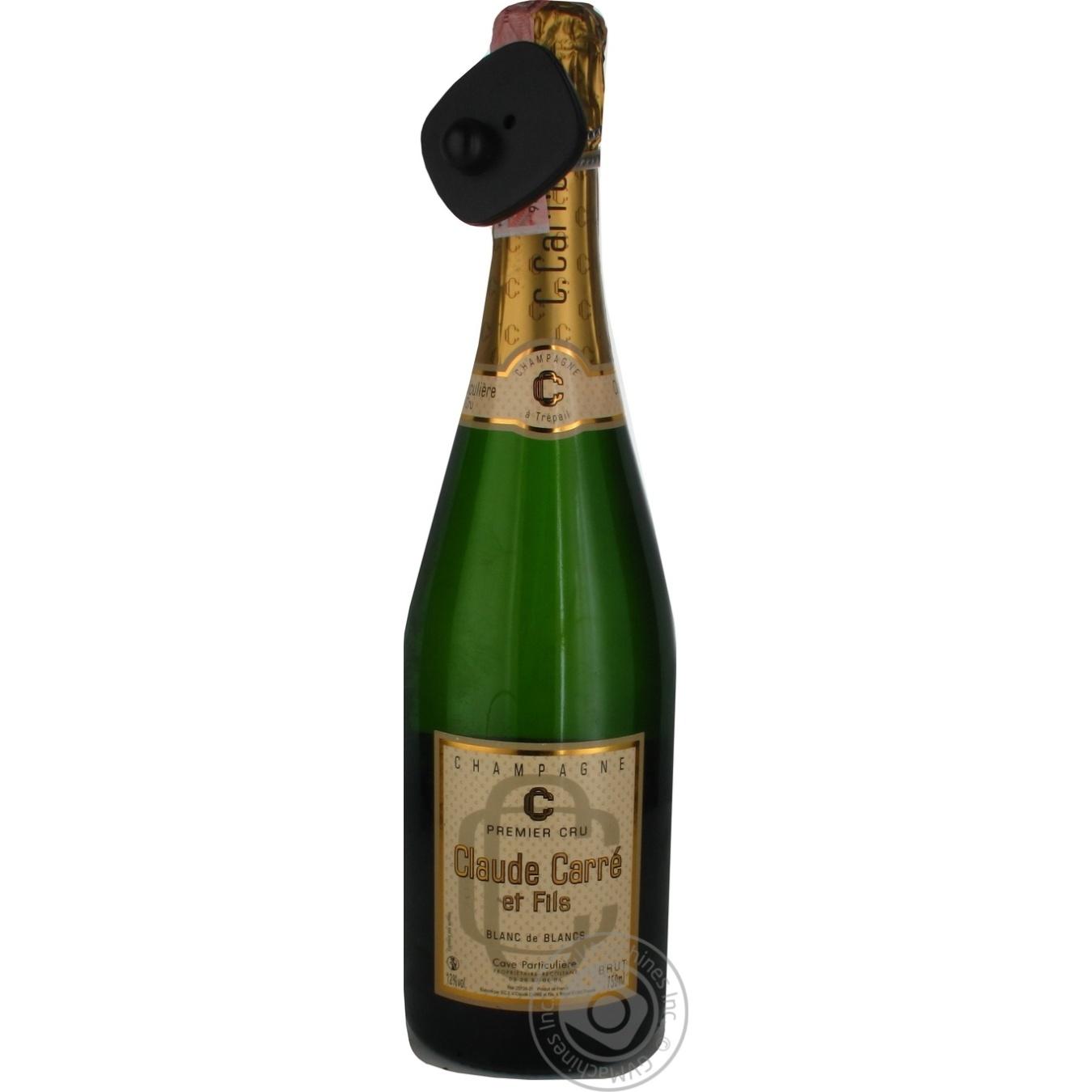 Купить Шампанське Claude Carre et Fils біле Брют 12% 0, 75л