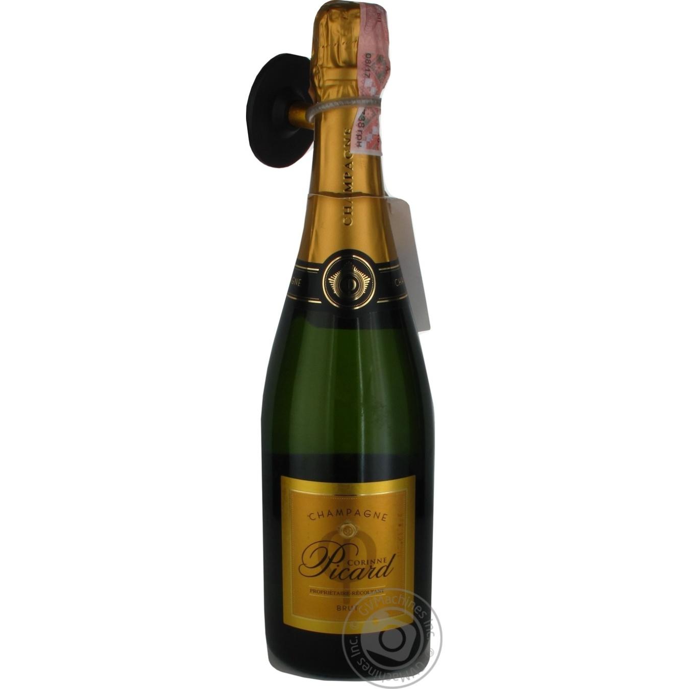 Шампанське Corinne Picard біле Брют 12% 0, 75л  - купить со скидкой