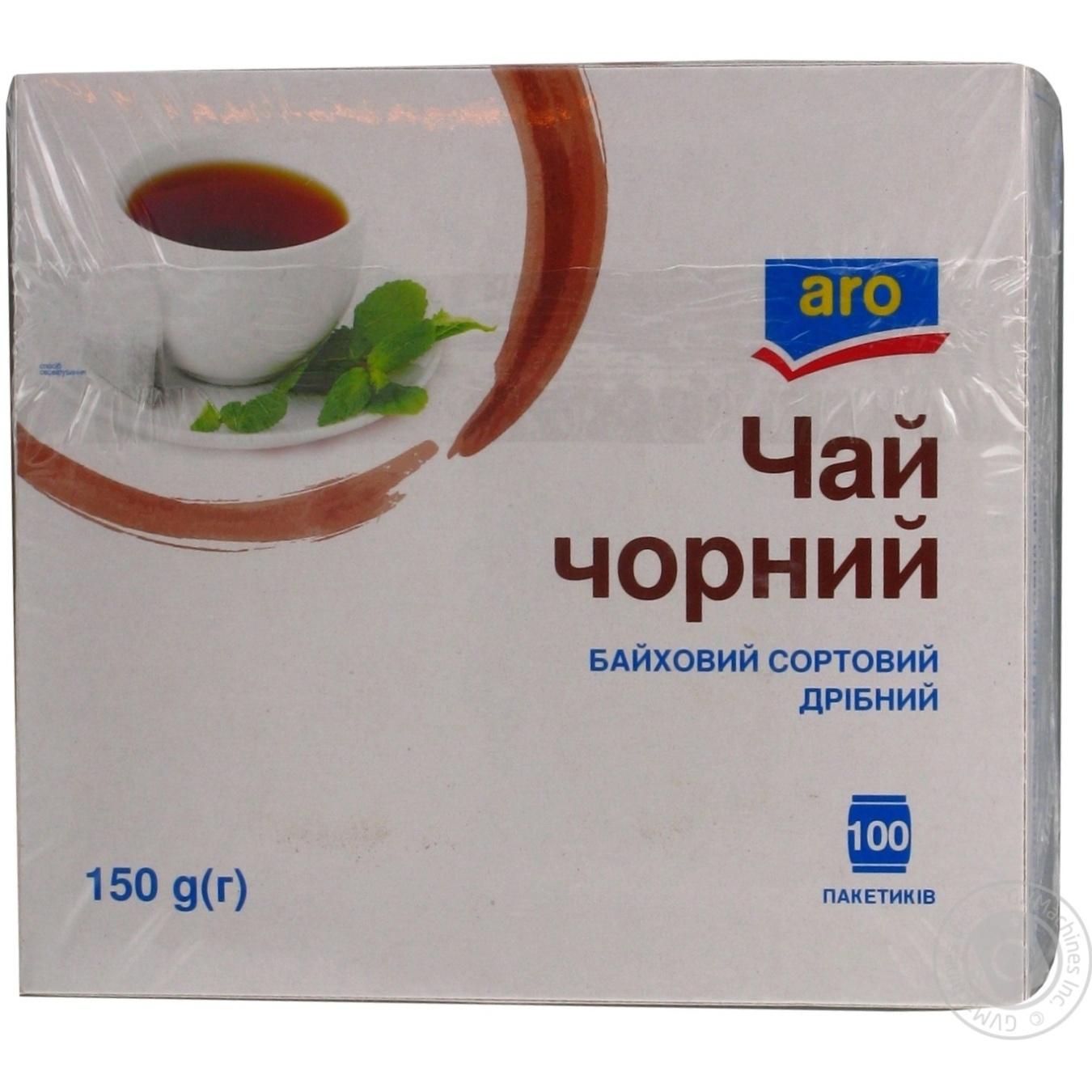 Купить Чай Aro черный байховый мелкий 100пак
