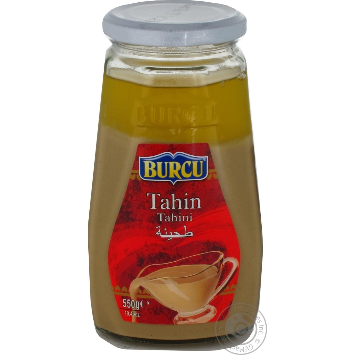 Купить Тахин Burcu кунжутная паста 550г