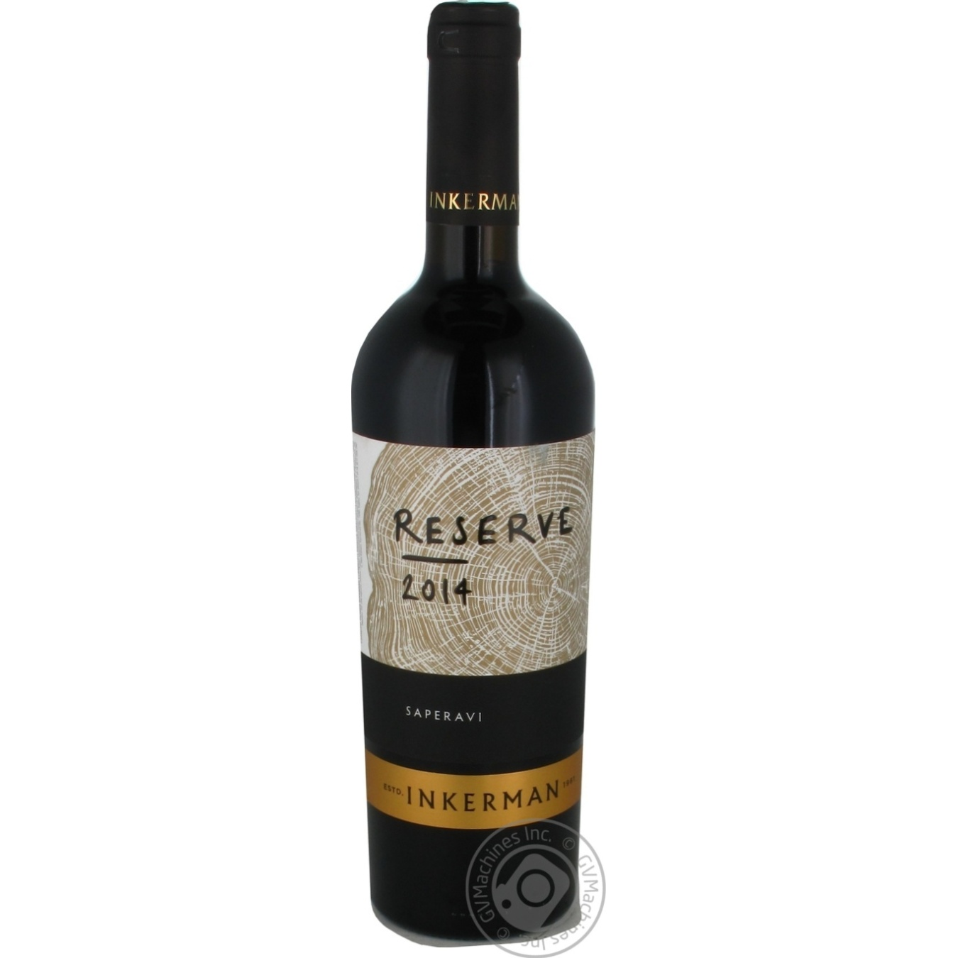 Купить Алкоголь та енергетики, Вино Inkerman Reserve Сапераві червоне сухе 10-14% 0, 75л