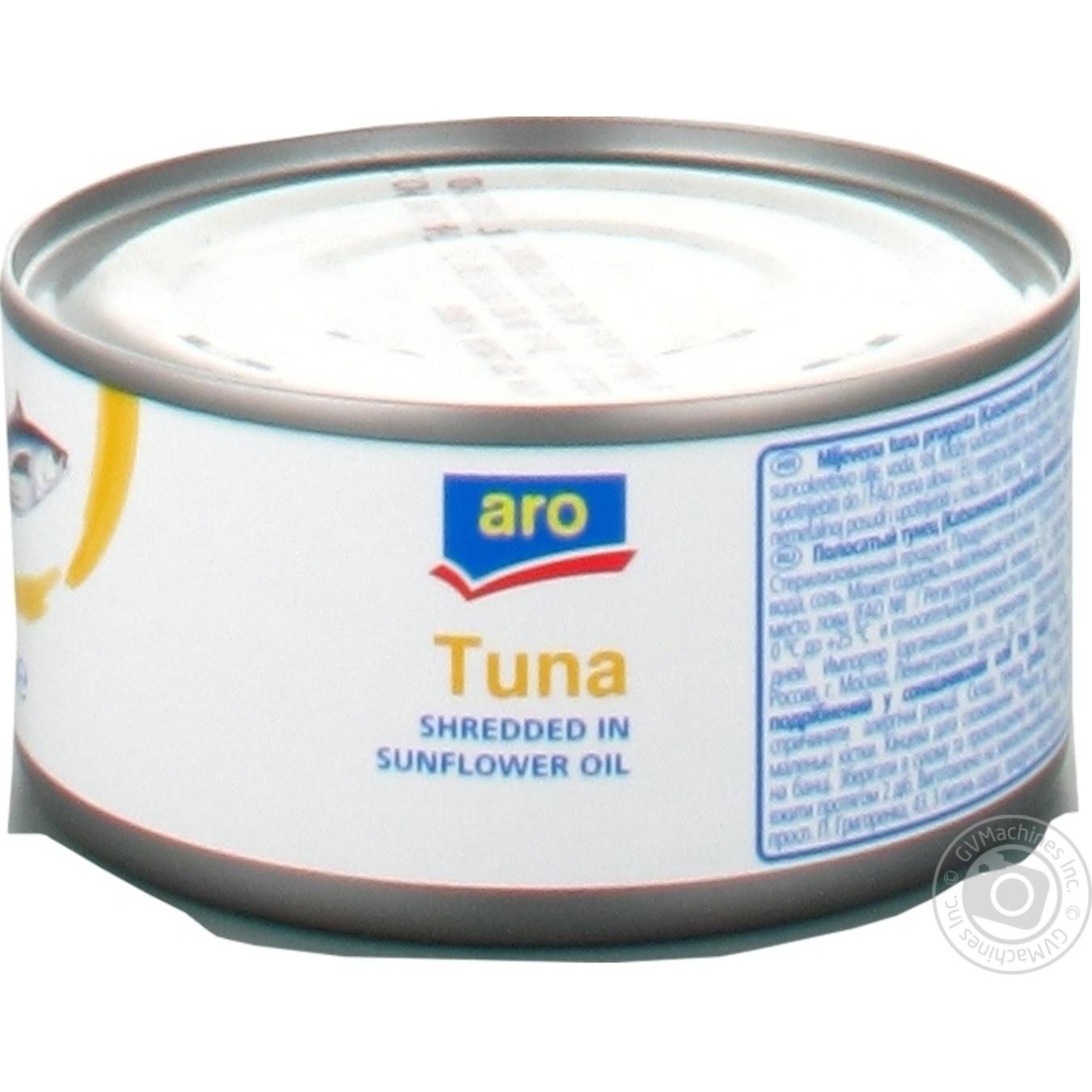 Тунець Аro в олії 185г