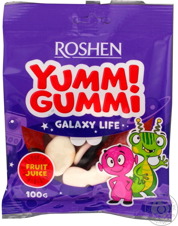 Купить Конфеты желейные Roshen Yummi Gummi Galaxy Life 100г