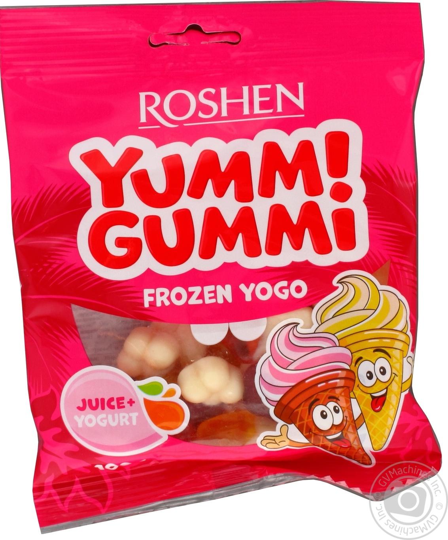 Купить Конфеты желейные Roshen Yummi Gummi Frozen Yogo 100г
