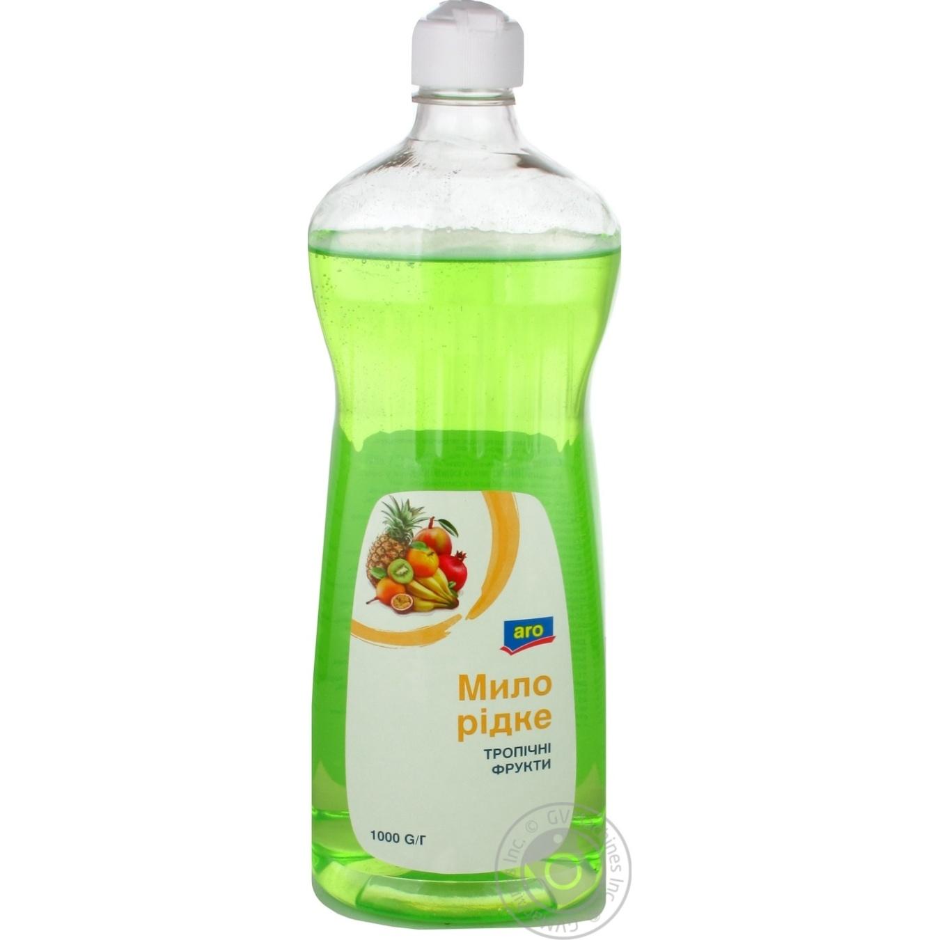 Купить Мыло жидкое Aro Тропические фрукты 1кг
