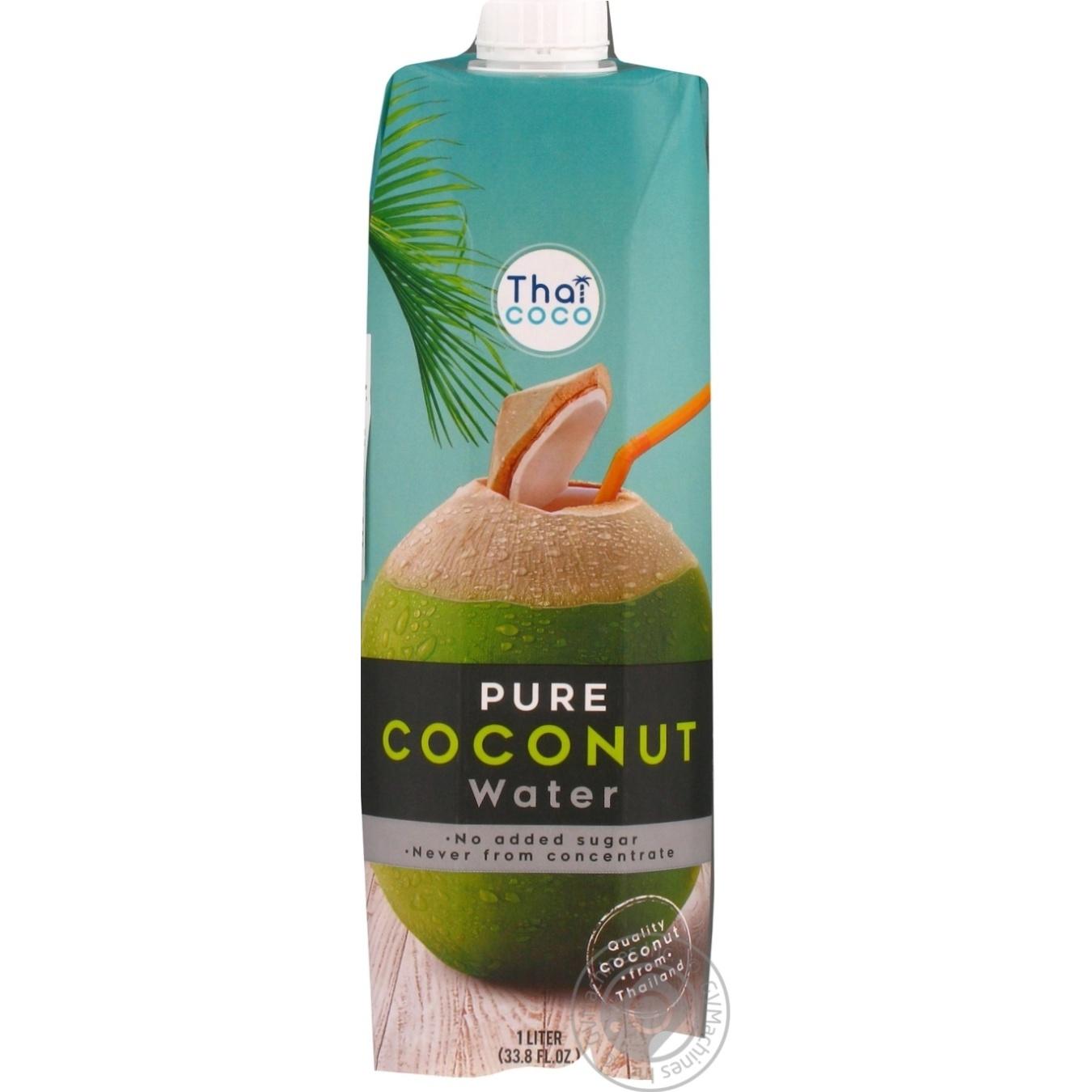 Купить Вода Thai coco кокосовая 1л