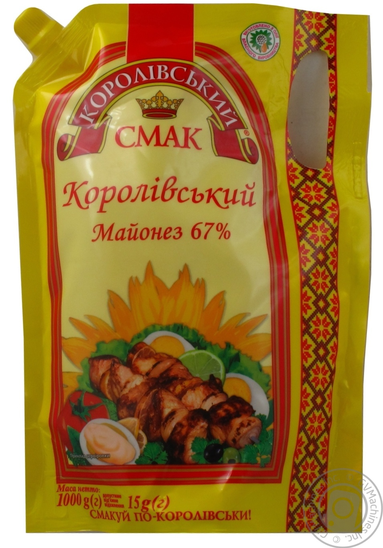 Купить Майонез Королівський смак Королевский 67% 1000г