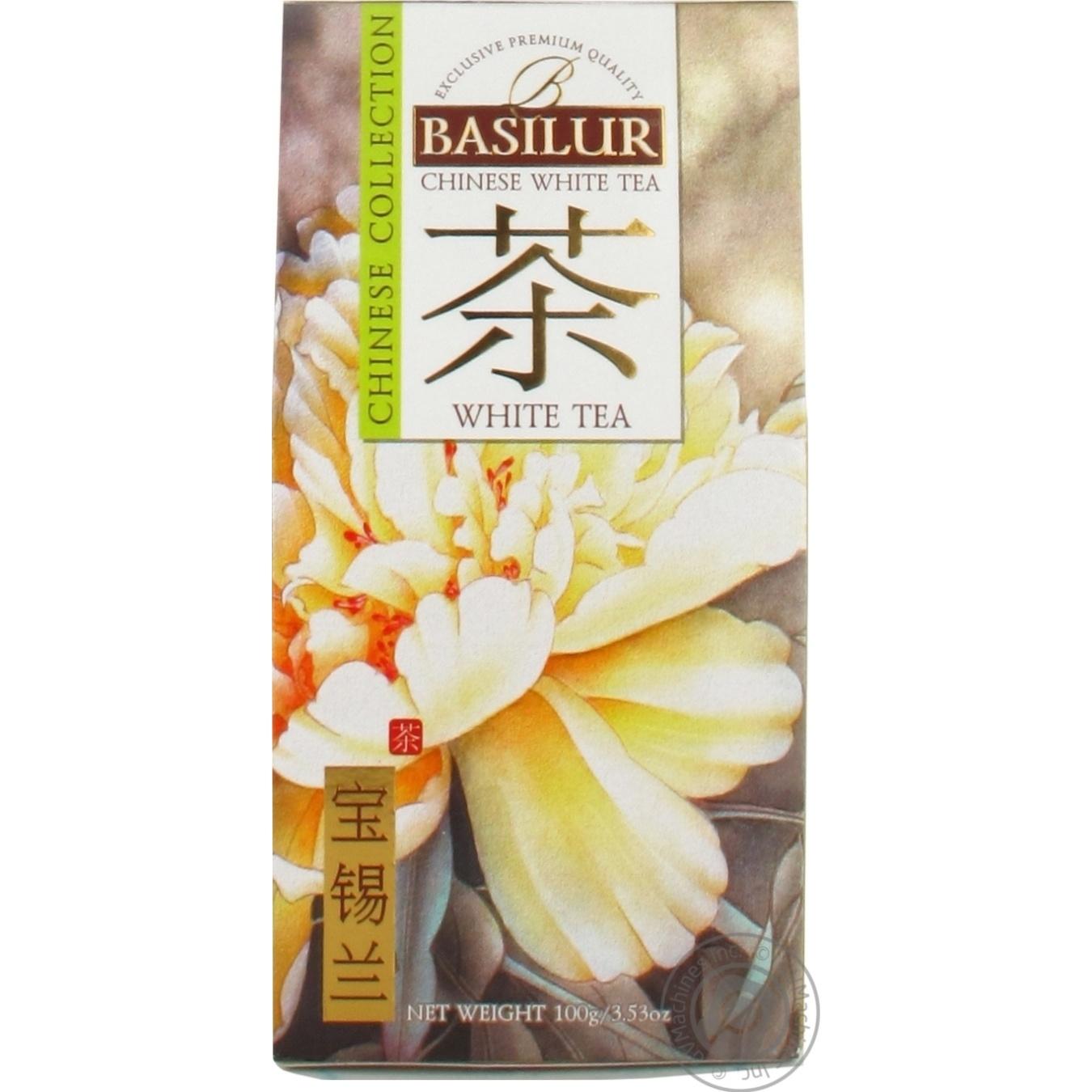 Купить Чай Basilur белый китай 100г