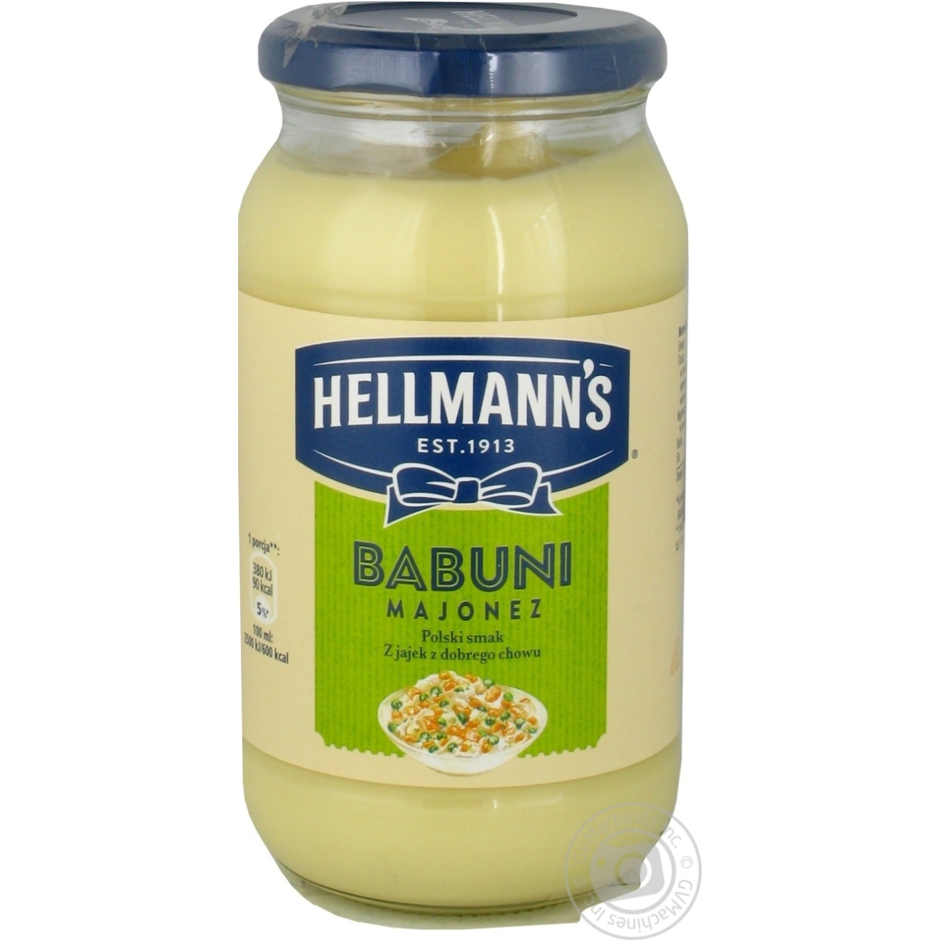 Купить Майонез Hellmann's Babuni 65% 420мл