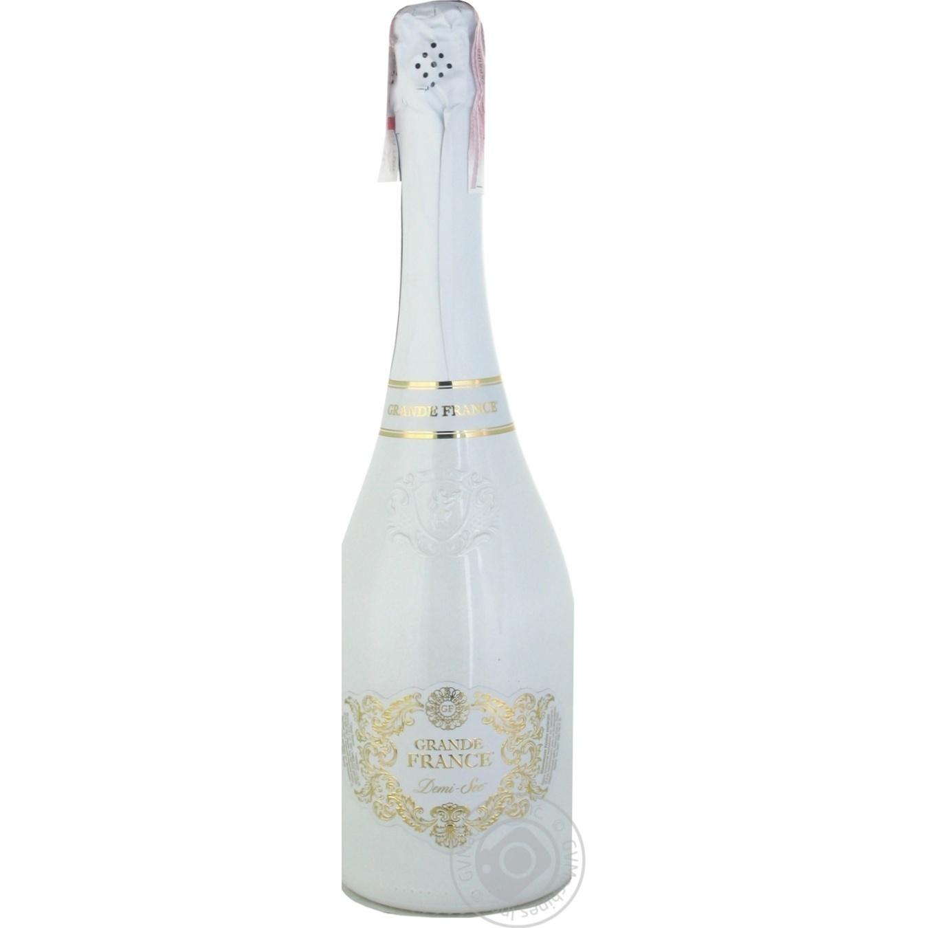 Купить Вино ігристе Grande France Demi Sec 750мл