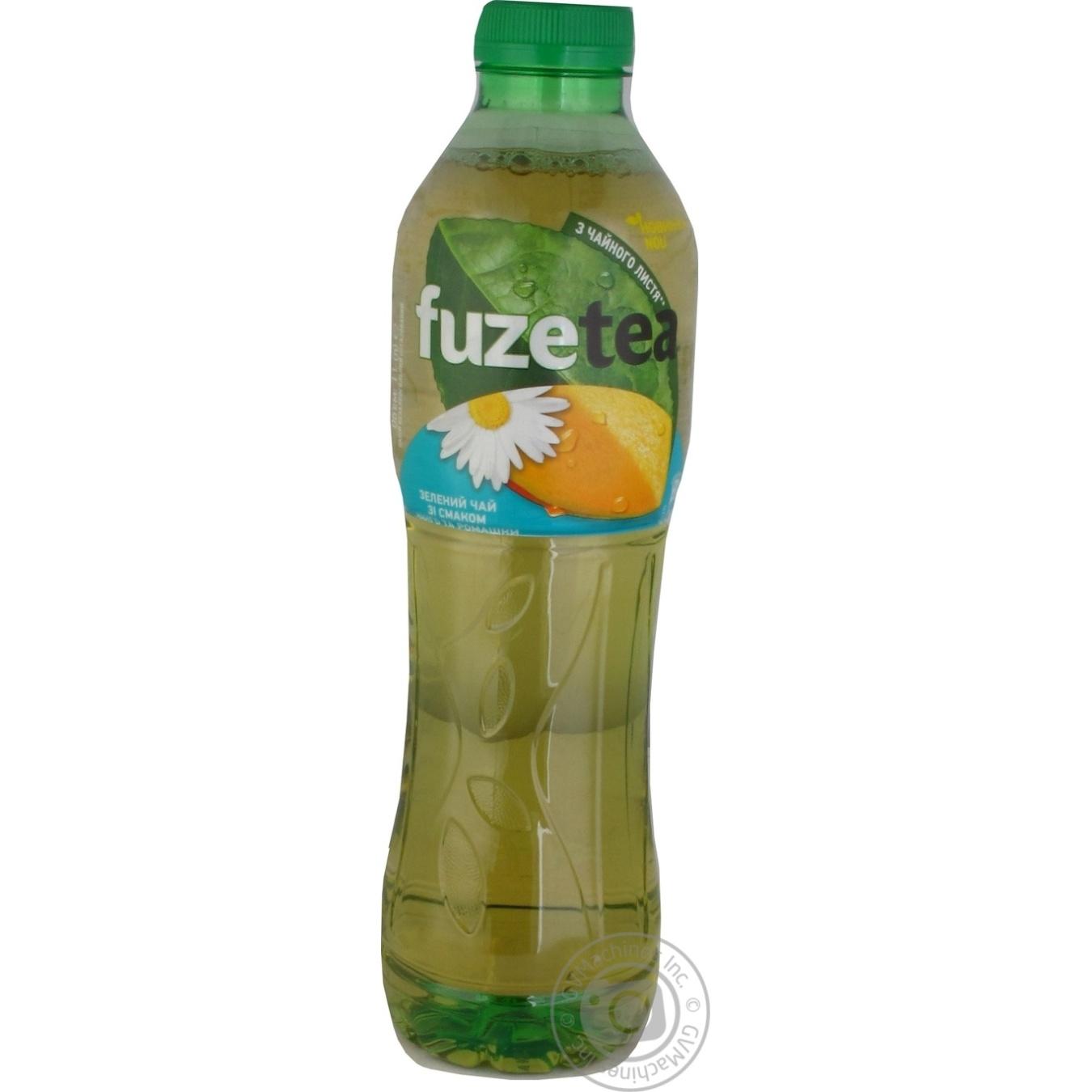 Чай холодний зелений Fuzetea зі смаком манго та ромашки 1л