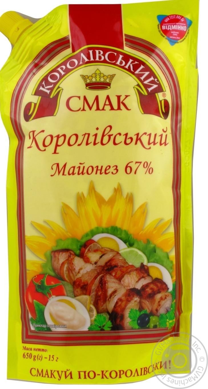 Купить Майонез Королівський смак Королевский 67% 650г