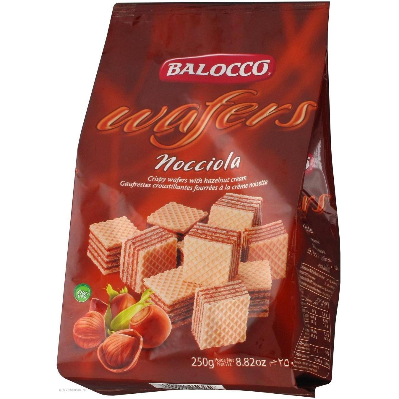 Купить Вафлі Balocco Nocciola з кремом з лісового горіха 250г