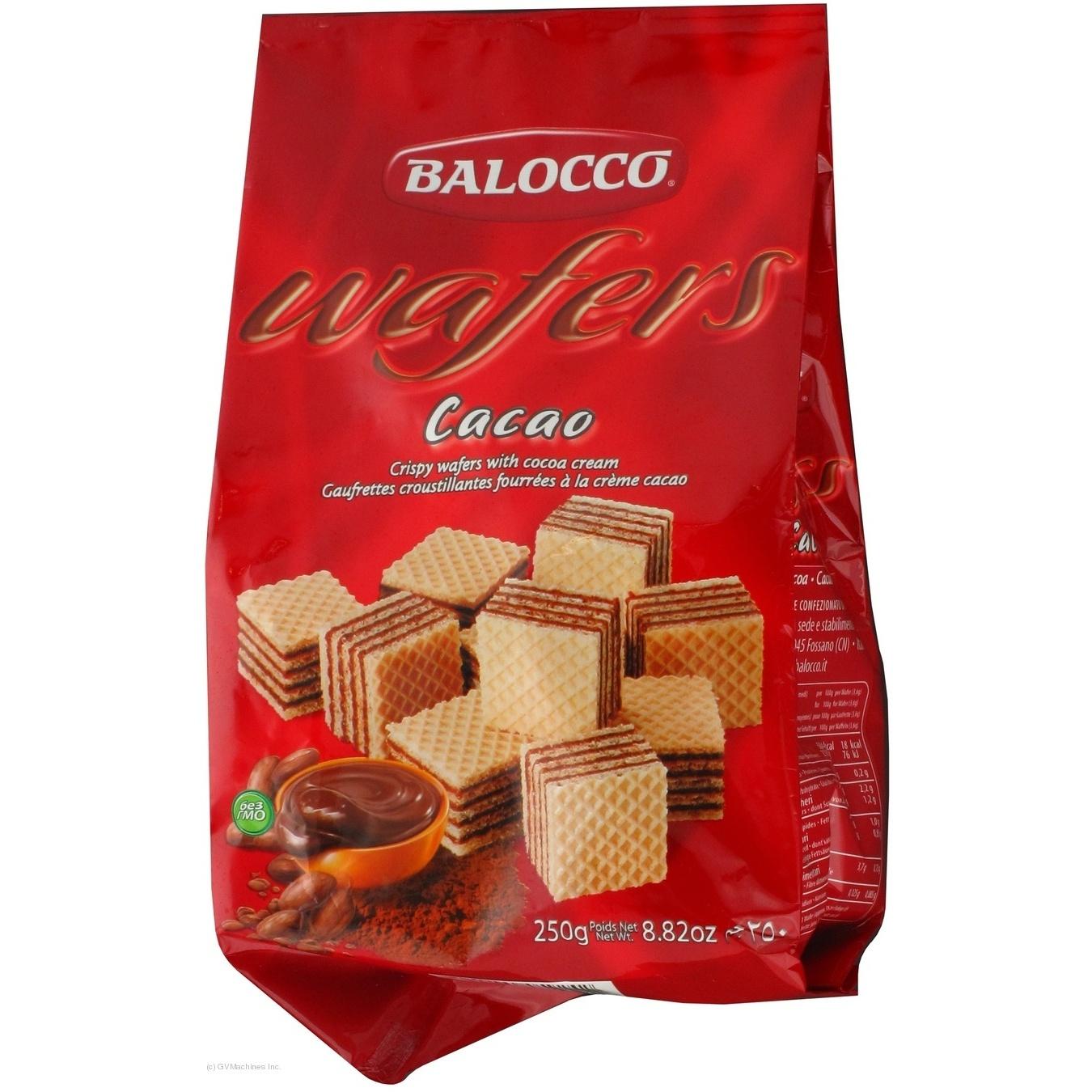 Купить Вафлі Balocco з какао 250г