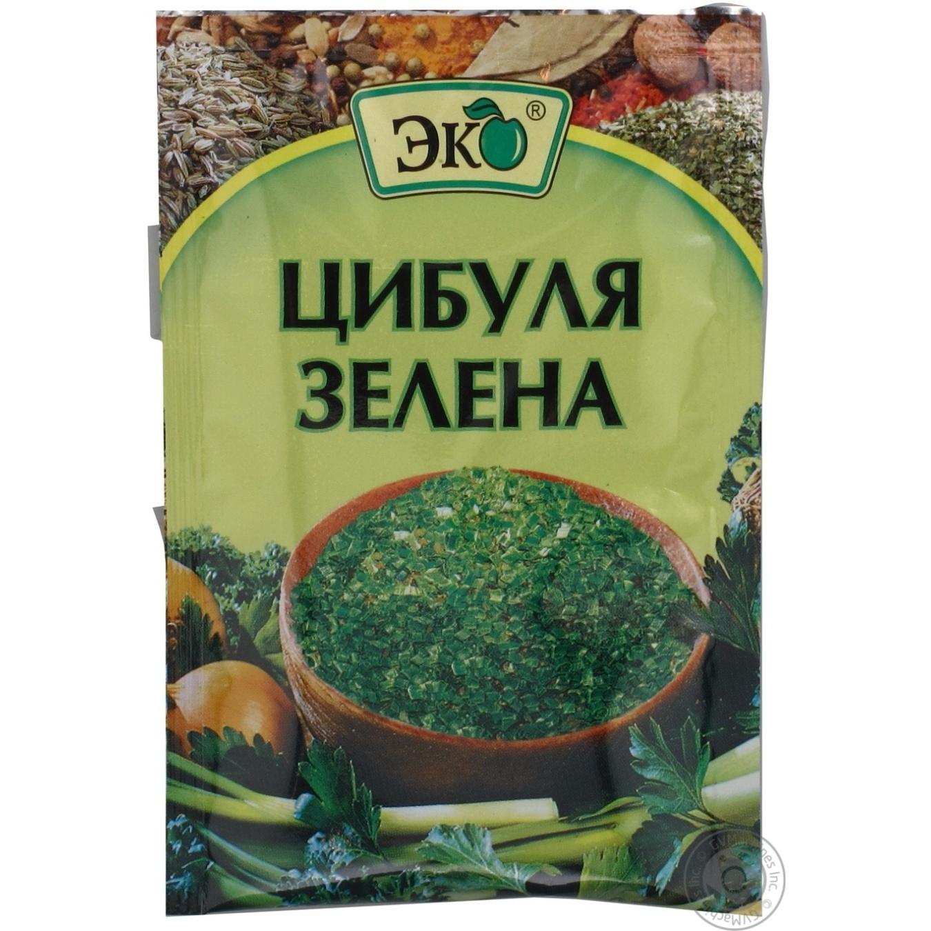 Цибуля Еко сушена зелена 6г