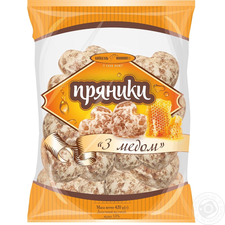 Купить Пряники Киевхлеб С медом 420г