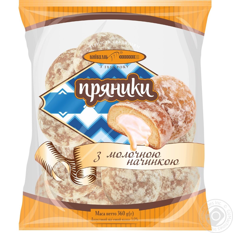 Купить Пряники Киевхлеб с молочной начинкой 360г