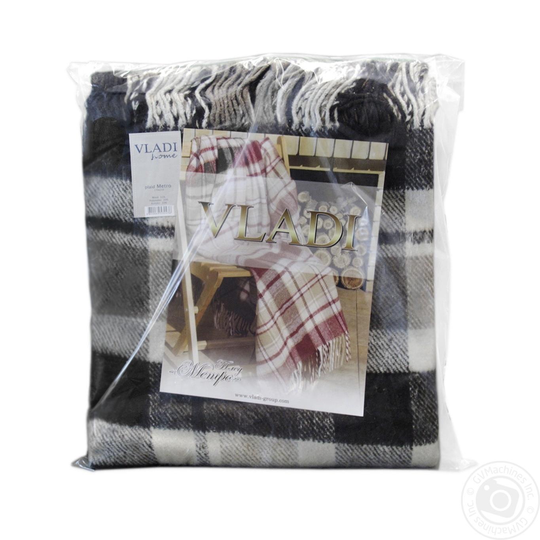 Купить Домашній текстиль, VLADI ПЛЕД МЕТРО 170Х210СМ