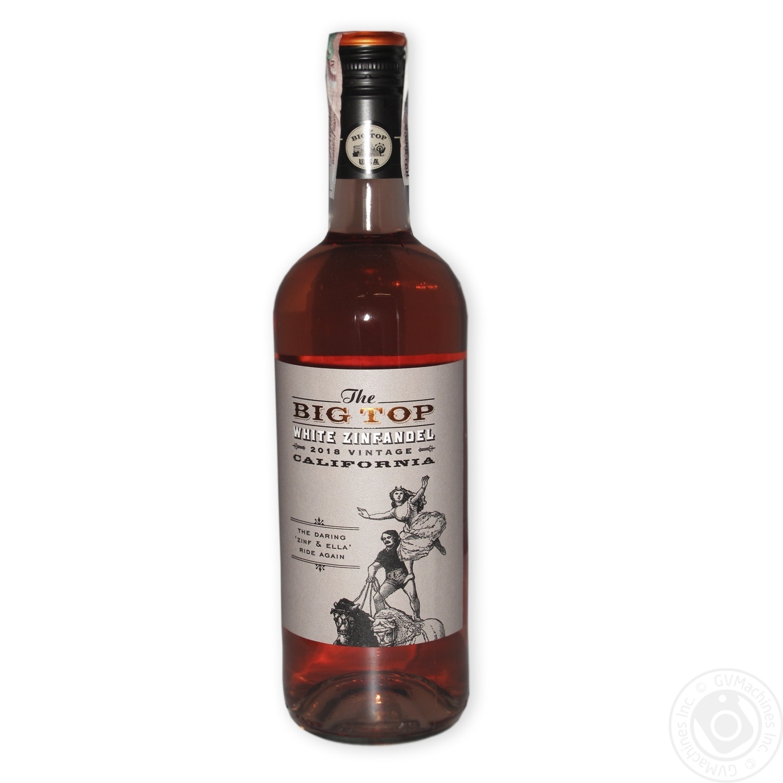Вино Big Top Зінфандель рожеве 750мл