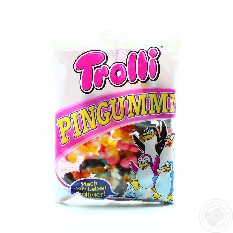 Купить Цукерки та батончики, Цукерки жувальні Trolli Pingummi 175г
