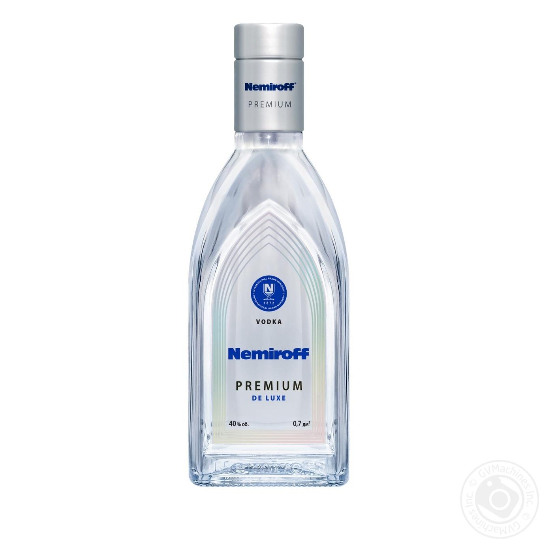 Купить Водка Nemiroff Premium De Luxe особая 40% 0.7л