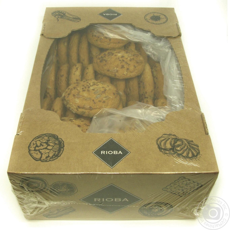 Печиво Rioba вівсяне льон 1,3кг