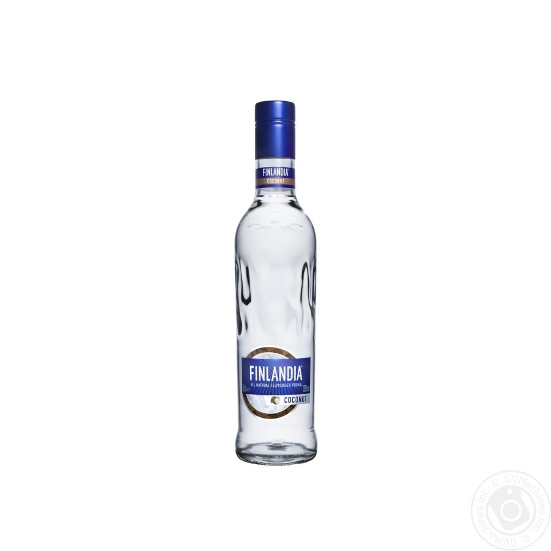 Алкоголь та енергетики, Горілка Finlandia Coconut 0, 5л  - купить со скидкой