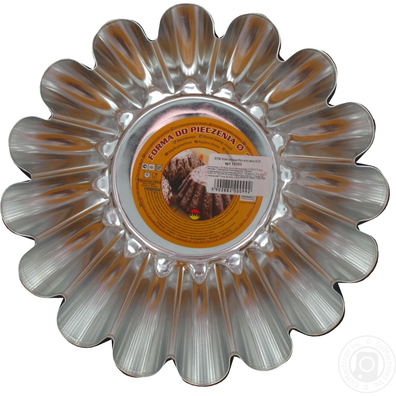 Купить Форма для выпечки Кексница без втулки 215мм