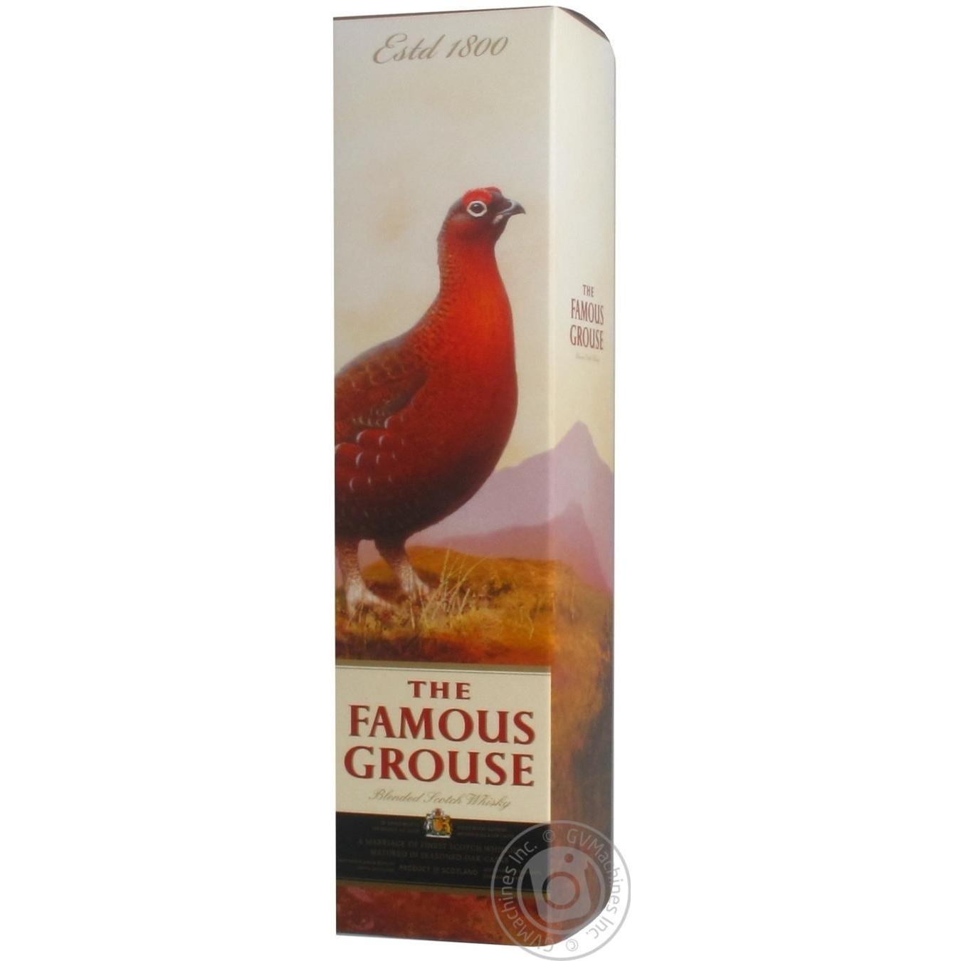 Купить Виски Famous Grouse 0, 7л