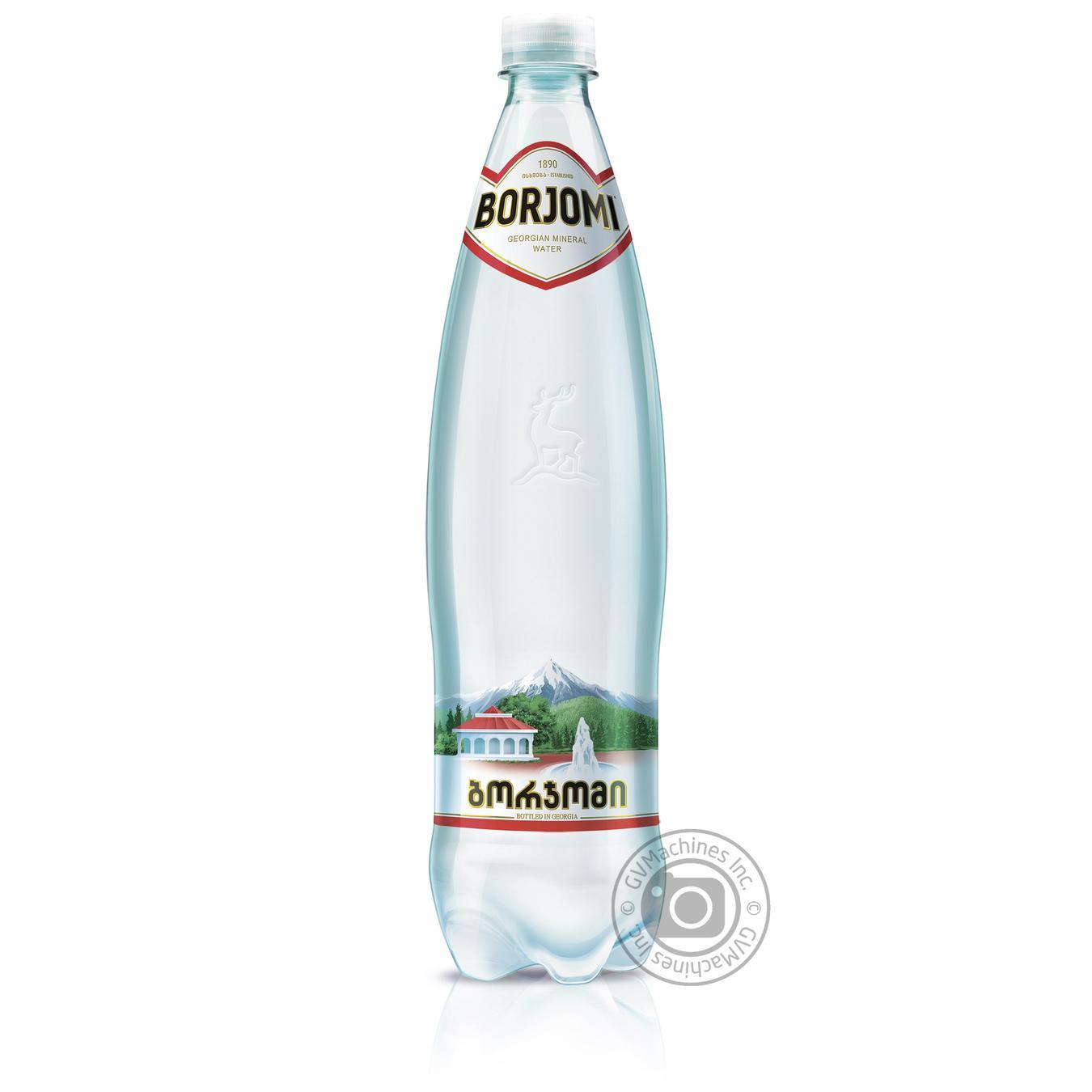 Купить Мінеральна вода, Вода Боржомі сильногазована лікувально-столова 1000мл Грузія